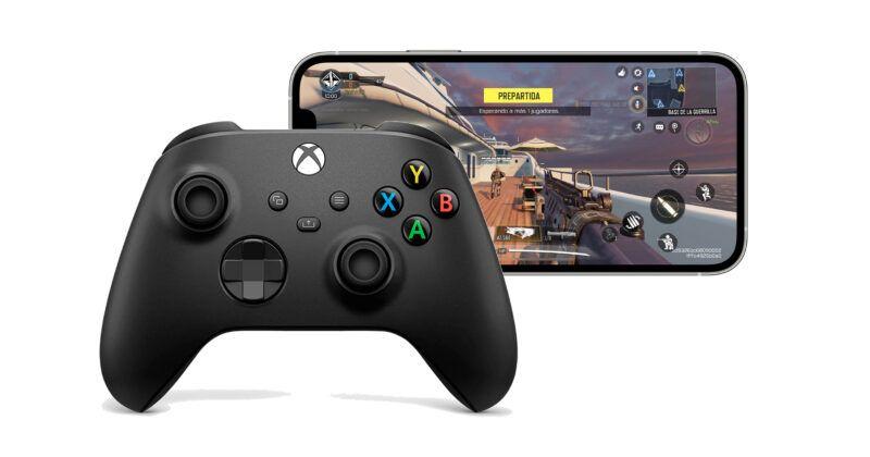 Cómo conectar un mando de Xbox Serie X o S a un iPhone