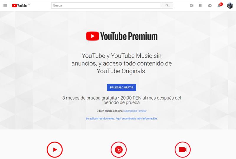 Cómo configurar una familia de YouTube Premium
