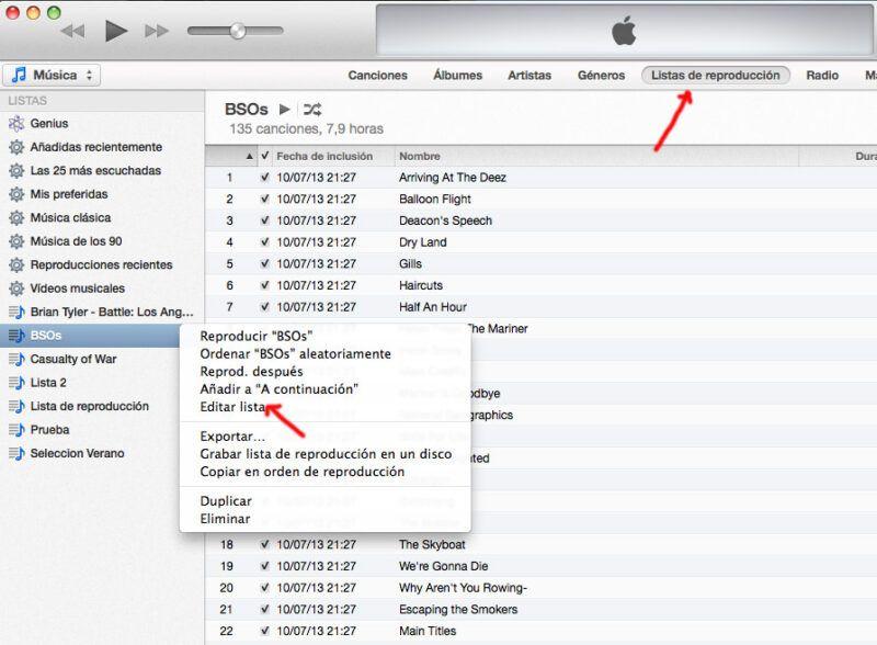 Cómo crear grandes listas de reproducción con iTunes Genius