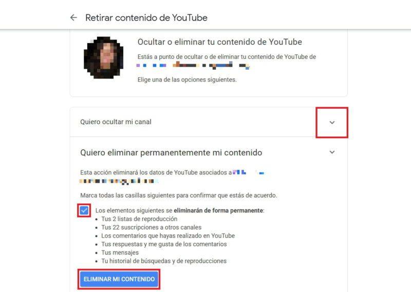 Cómo darse de baja de los canales de YouTube