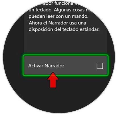 Desactivar el narrador en la serie X o S de Xbox