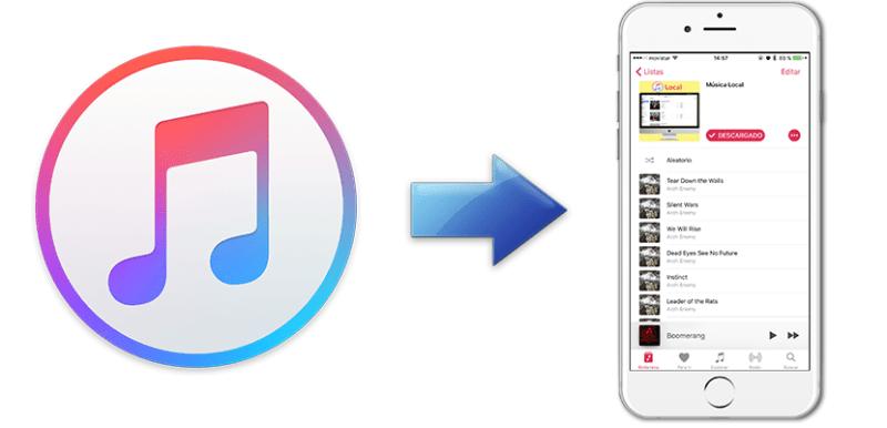 Cómo añadir música a un iPhone sin usar iTunes