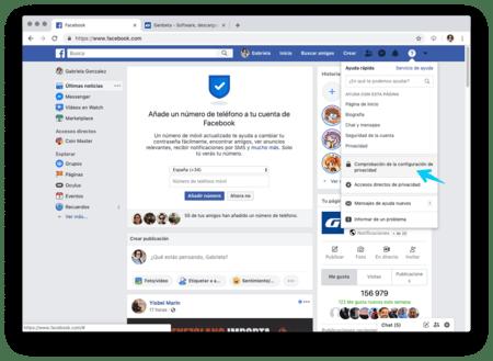 Facebook privado