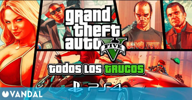 Grand Theft Auto 5 para PS4