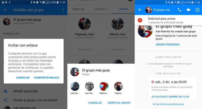 Cómo chatear en grupo con Facebook Messenger