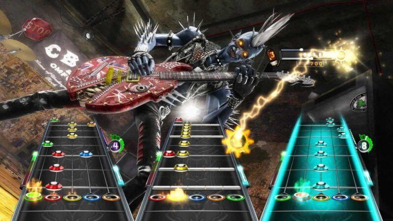 Guitar Hero: Warriors of Rock Setlist