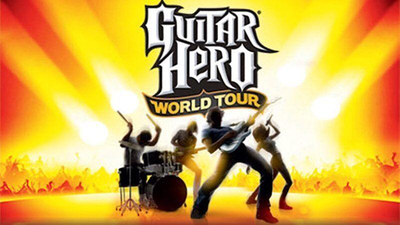 Lista de canciones en Guitar Hero World Tour