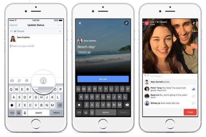 Cómo hacer Facebook Live
