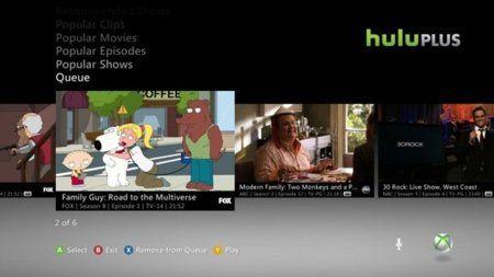 Hulu Plus en Xbox 360