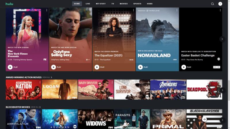 Hulu con Live TV
