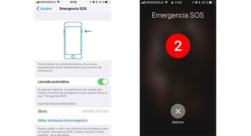 Llamadas de emergencia en el iPhone: Cómo utilizar el SOS de Apple
