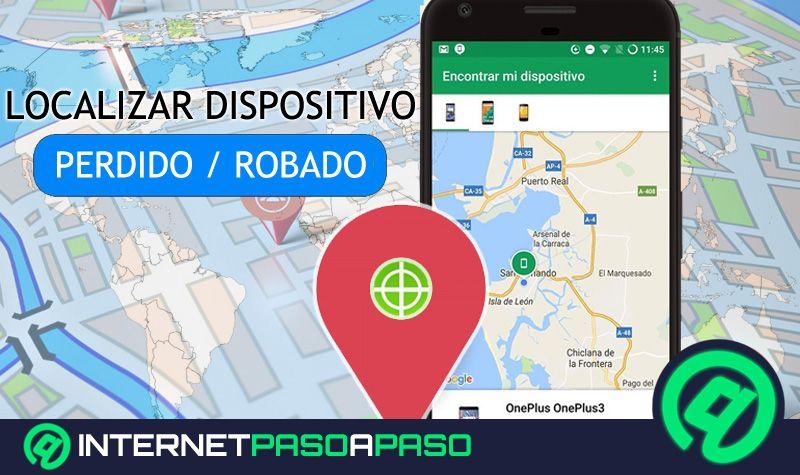 Localizar un teléfono Android