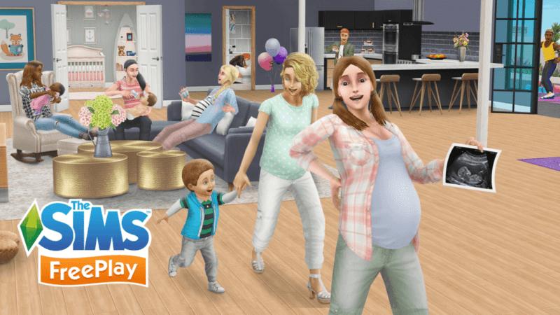 Los Sims 2: Intentar un bebé y el embarazo