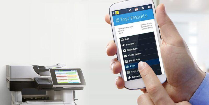 NFC para impresoras