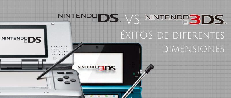 Cómo se compara la Nintendo 3DS con la DS