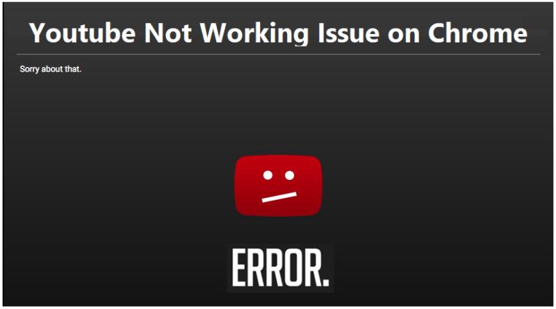 ¿Por qué no funciona YouTube?