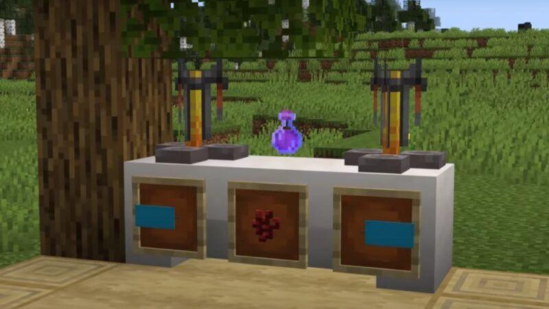 Cómo hacer una poción de visión nocturna en Minecraft