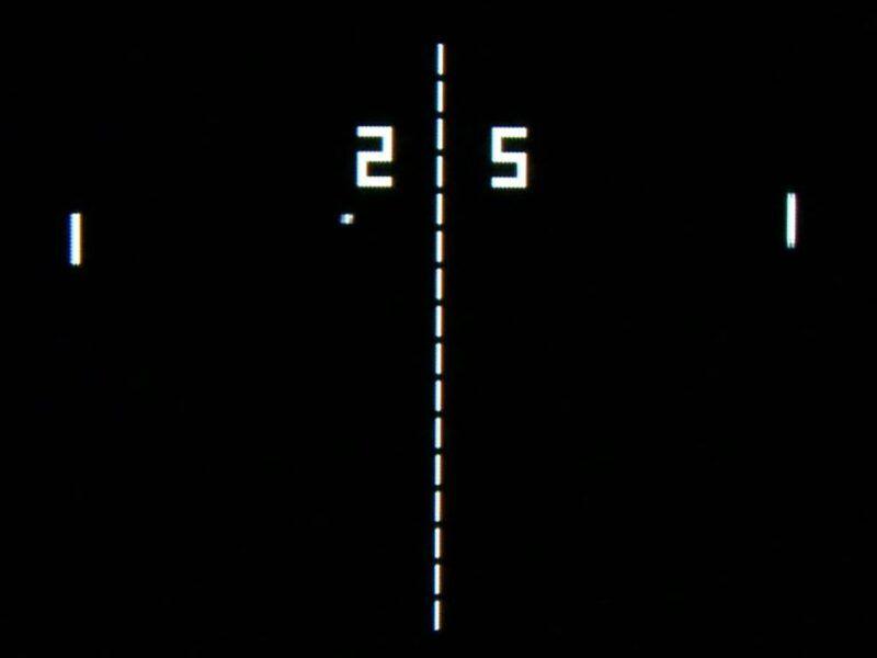 Pong: El primer megahit de los videojuegos