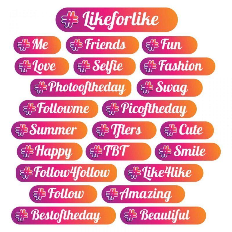 Etiquetas populares para Instagram que deberías usar