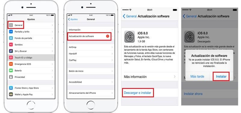 Programa de actualización del iPhone de Apple