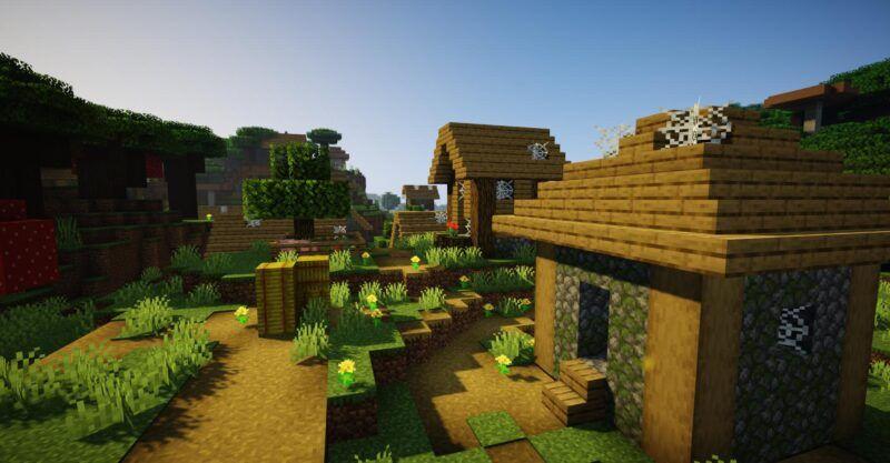 Cómo encontrar un pueblo en Minecraft