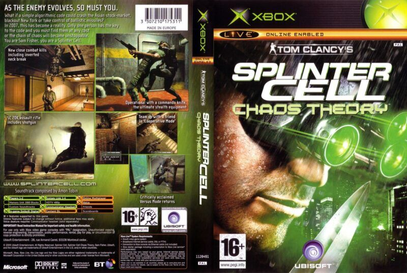 Guía de trucos de Splinter Cell: Chaos Theory para Xbox