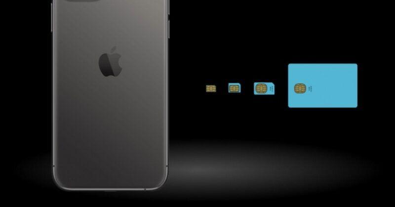 Tarjetas SIM del iPhone