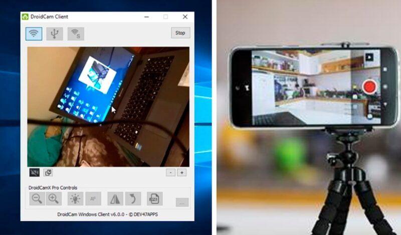 Cómo utilizar un iPhone como una cámara web