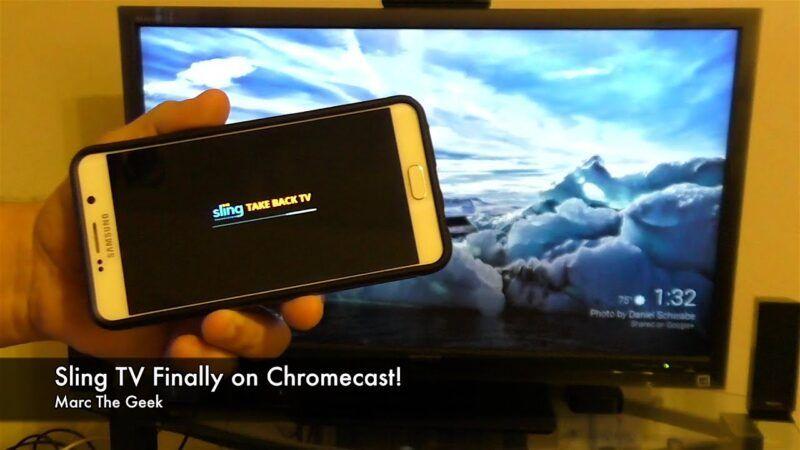 Ver Sling TV en Chromecast