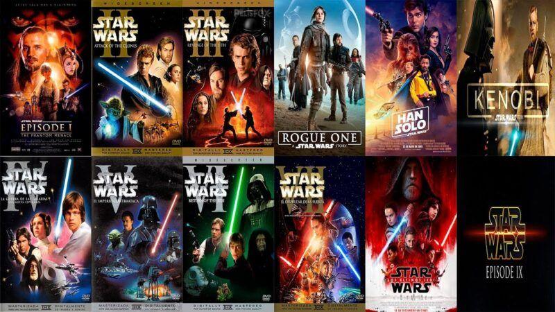 Cómo ver las películas de Star Wars en orden en Disney+