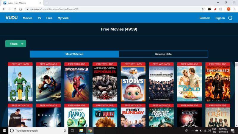 Vudu con Netflix y Hulu