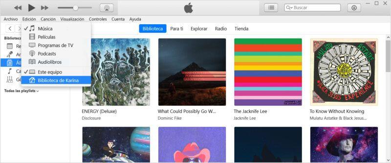 Cómo configurar la opción de compartir en casa en iTunes para Mac y PC