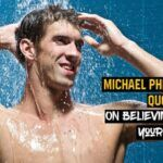 30 frases de Michael Phelps sobre creer en uno mismo
