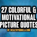 27 coloridas frases motivacionales para el éxito