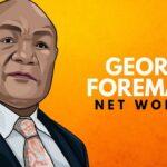 Patrimonio neto de George Foreman
