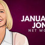 Patrimonio neto de January Jones
