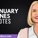 40 frases inspiradoras de January Jones