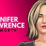 Patrimonio neto de Jennifer Lawrence