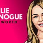 Patrimonio neto de Kylie Minogue