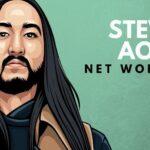 Patrimonio neto de Steve Aoki
