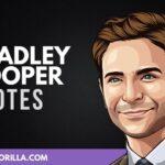 34 Citas significativas de Bradley Cooper