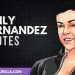 20 frases profundas y fuertes de Emily Fernandez
