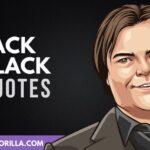 35 Citas divertidas y luminosas de Jack Black