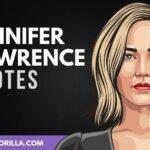 32 frases de Jennifer Lawrence sobre la vida y la realización