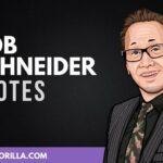 30 frases humildes y divertidas de Rob Schneider