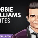 21 frases inspiradoras de Robbie Williams
