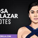 20 mejores frases de Rosa Salazar