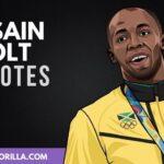 30 Motivación Usain Bolt citas sobre el éxito
