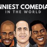 Los 25 cómicos más divertidos de todos los tiempos