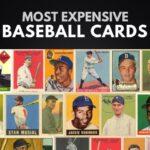 Las 10 tarjetas de béisbol más caras del mundo